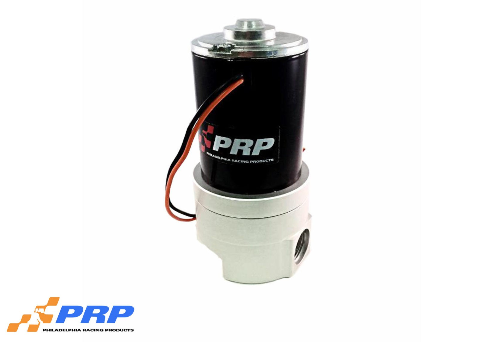 Clear Inline Remote Water Pump made by Philadelphia Racing Products