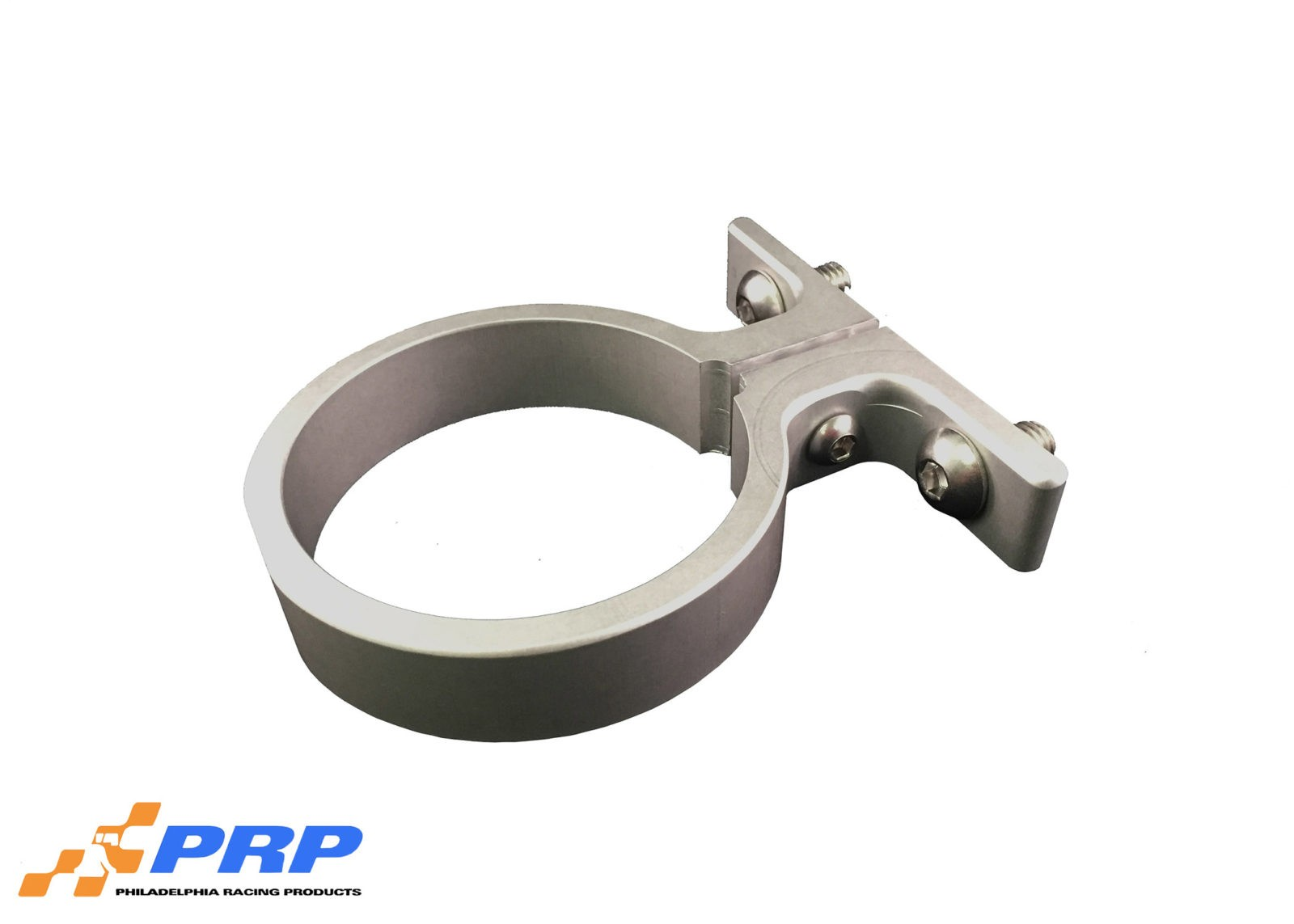 Clear Remote Water Pump Mounting Brackets made by PRP Racing Products