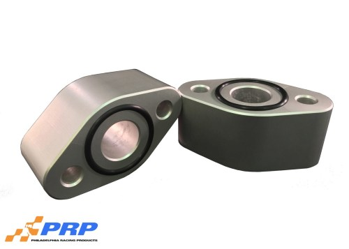 "Clear BBC 1-1/2"" water pump spacer made by PRP Racing Products"