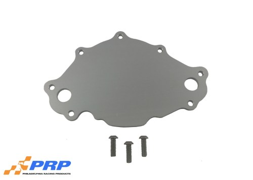 Clear Billet Small Block Ford Backing Plates made by PRP Racing Products