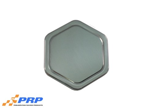 Polished radiator cap made by PRP Racing Products Back
