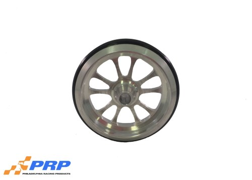 PRP Clear Wheelie Bar Wheel 10 Spoke Style made by PRP Racing Products