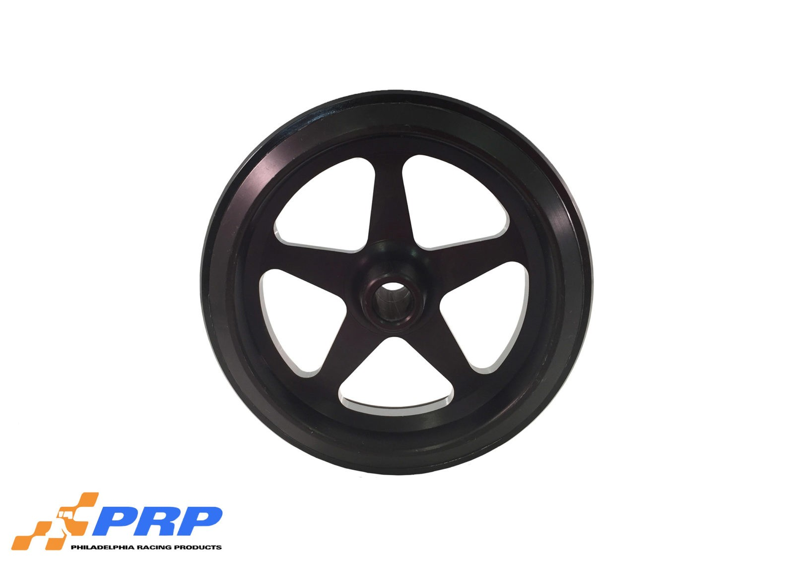 Black Anodized Star Style Wheelie bar Wheelsmade by PRP Racing Products