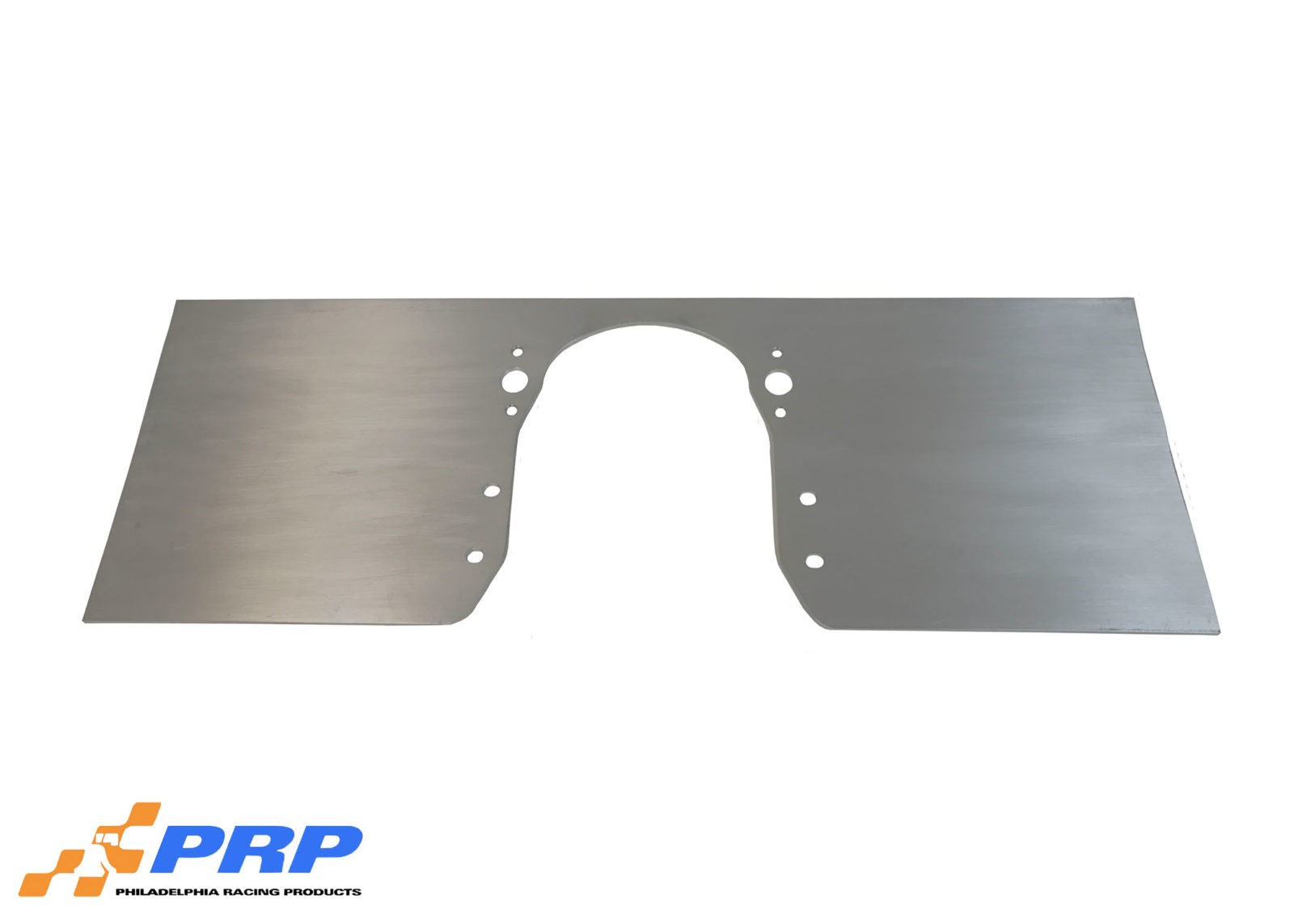 Silver Big Block Chevy Front Motor Plate made by PRP Racing Products