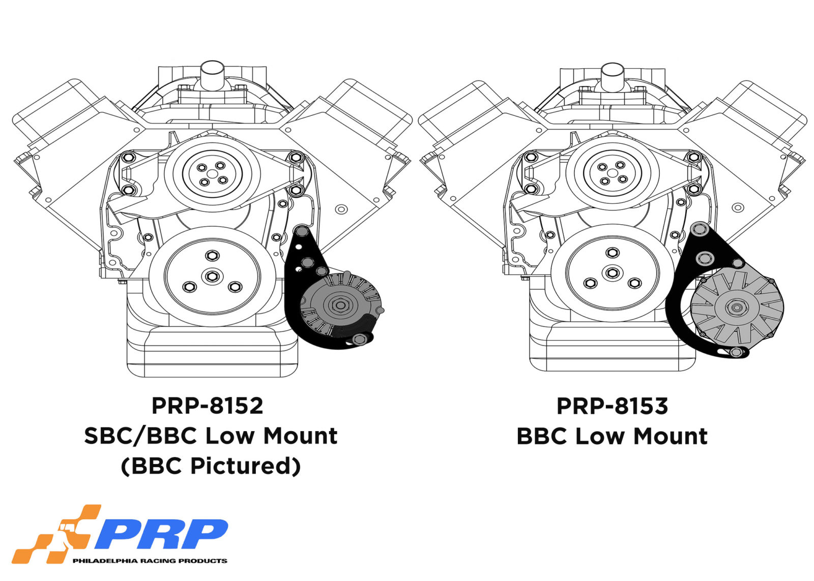 alternator mounting brackets