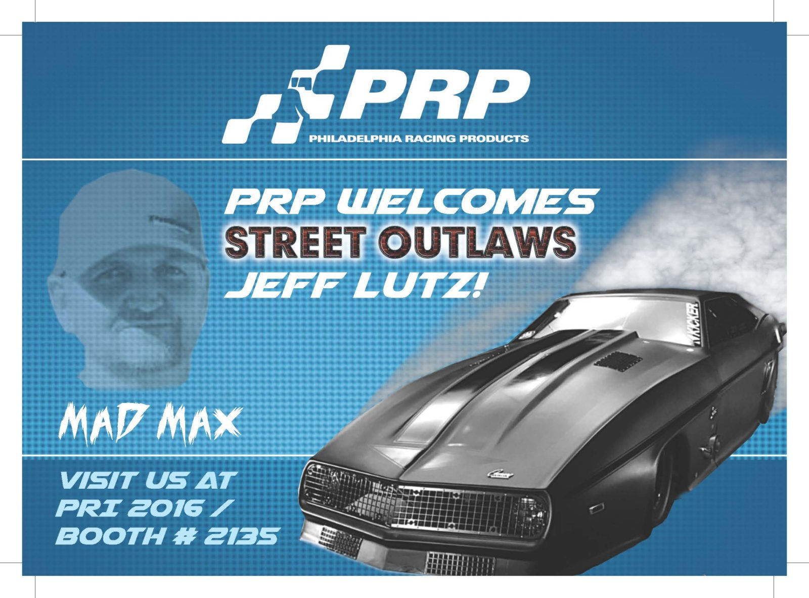 PRP Post Card from PRI 2016 signed by Jeff Lutz