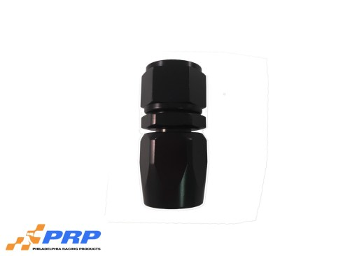 Black Straight Swivel Hose Ends - 12-AN by PRP Racing Products