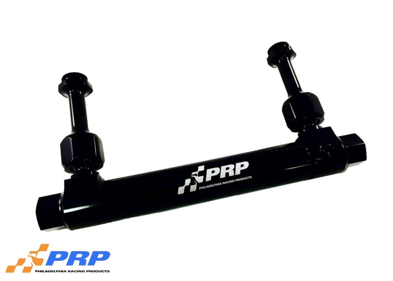 Black Adjustable Billet Fuel Log made by PRP Racing Products