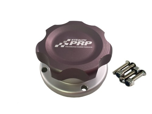 Stealth Filler Cap with bolt on bung made by PRP Racing Products