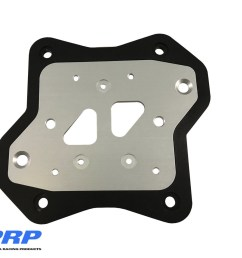 silver and black msd coil mounting bracket made by prp racing products [ 1600 x 1143 Pixel ]