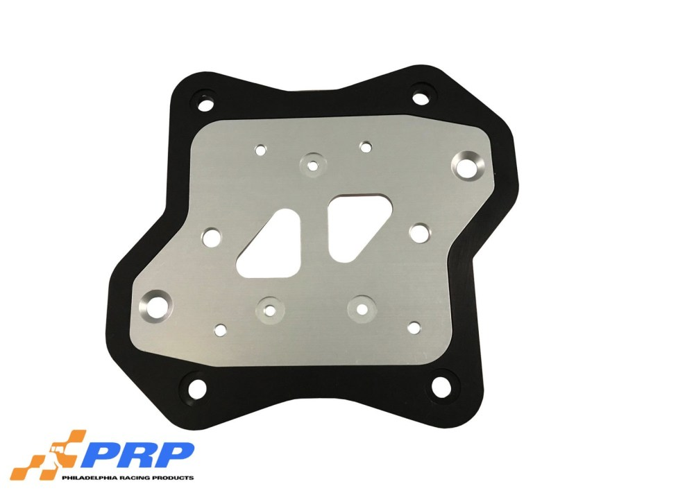 medium resolution of silver and black msd coil mounting bracket made by prp racing products
