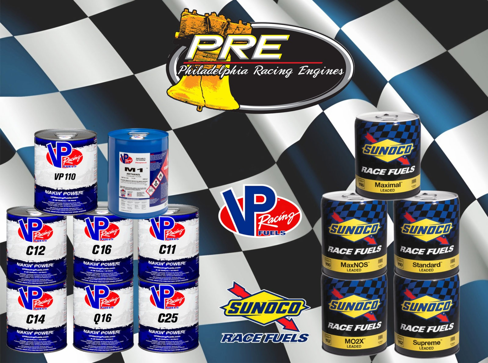 Vp Racing Fuel Sunoco Racing Fuel Philadelphia Racing Products Philadelphia Racing Engines