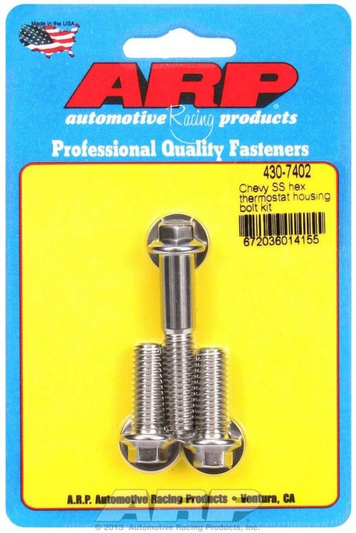 ARP's Chevy SS Thermostat Housing Bolts PRP Racing Products
