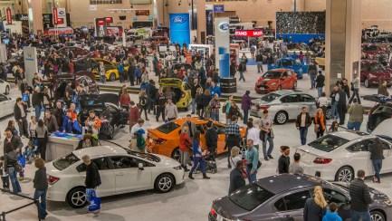 Philadelphia Auto Show PRP Racing Products