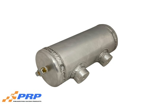Aluminum Overflow Tanks side view Made By PRP Racing Products