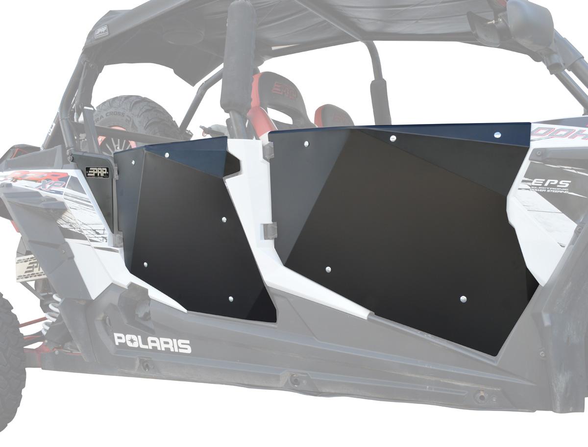 hight resolution of polaris rzr 4 1000 door set