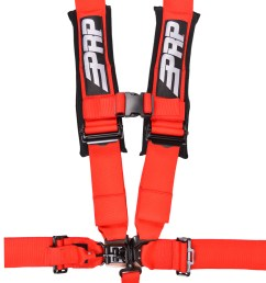 5 point 3 inch harness in red [ 912 x 1200 Pixel ]