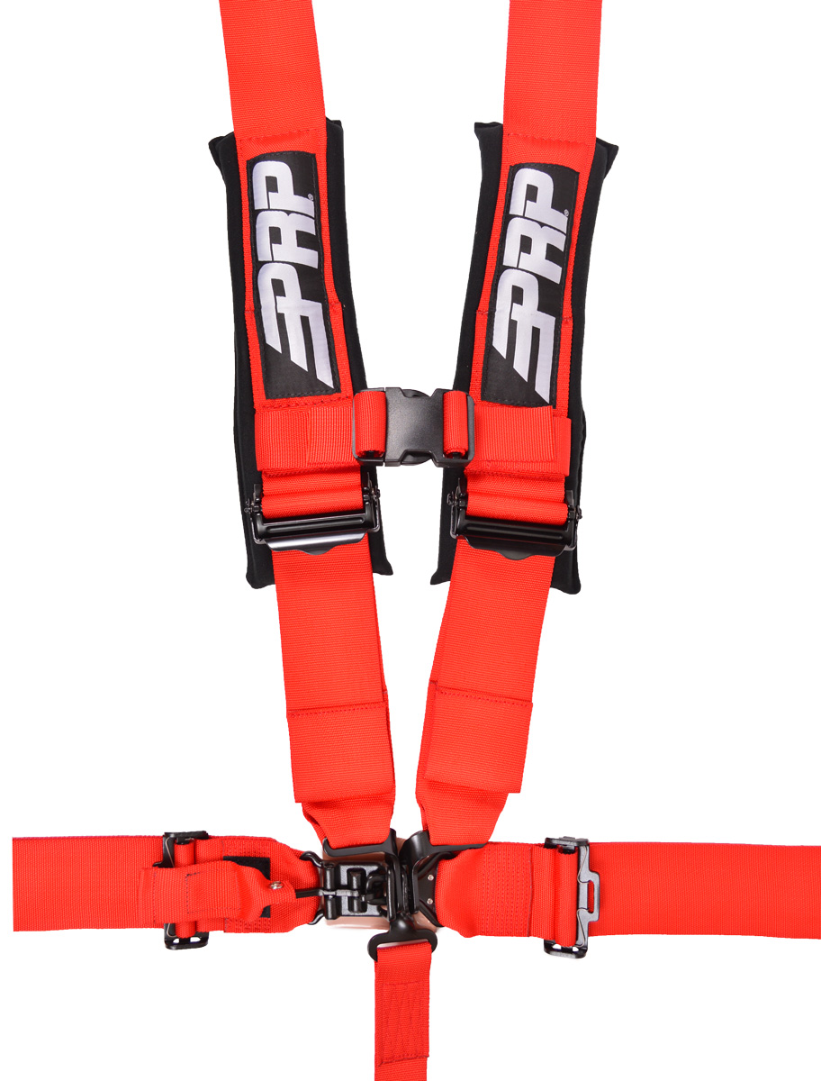 hight resolution of 5 point 3 inch harness in red
