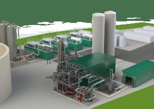 Highview Power Storage Render