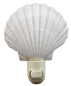 shell night light