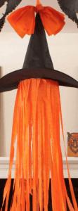 orange streamer witch hat