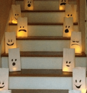 white bag ghosts