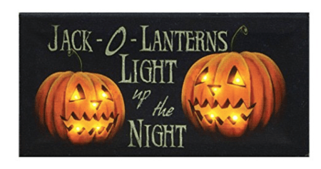 jack o lantern light art