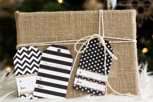 black-white-modern-glam-gift-tag