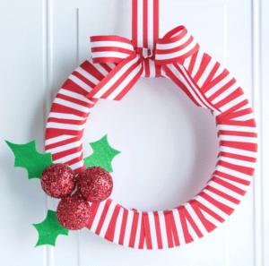 wreath-redwhite