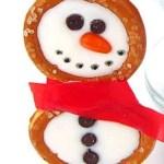 snowman-pretzels-christmas-treats-recipes