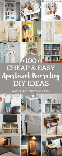 100 Cheap and Easy DIY Apartment Decorating Ideas ...
