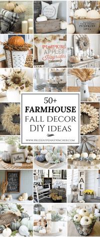 50 Farmhouse Fall Decor Ideas - Prudent Penny Pincher