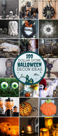 100 Dollar Store Halloween Decorations - Prudent Penny Pincher