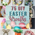 75 Best Diy Easter Wreaths Prudent Penny Pincher