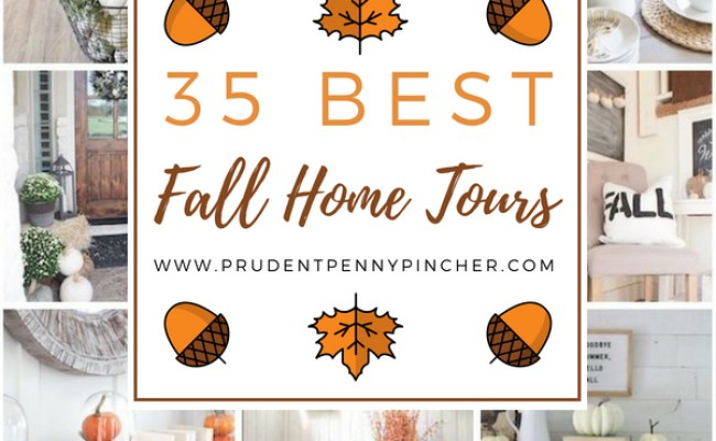 35 Best Fall Decor Home Tours Prudent Penny Pincher