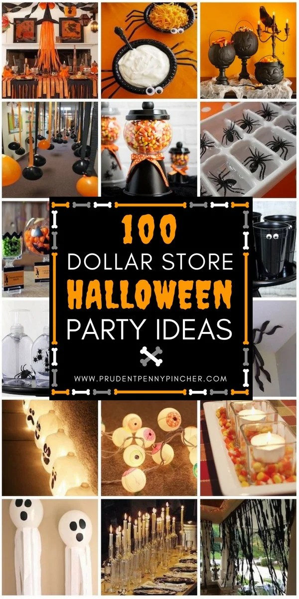 dollar tree pumpkin chair covers parsons chairs kirklands 100 store halloween party ideas prudent penny pincher throw a for less with these from decorations to favors and game