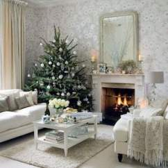 Christmas Decoration Ideas For Small Living Room Plaid Furniture 50 Apartment Decorations Prudent Penny Pincher Tree