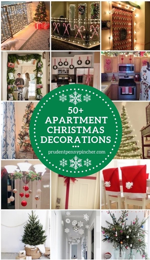 decorate small living room for christmas comfort chairs 50 apartment decorations prudent penny pincher