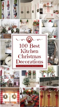 100 Best Kitchen Christmas Decorations - Prudent Penny Pincher