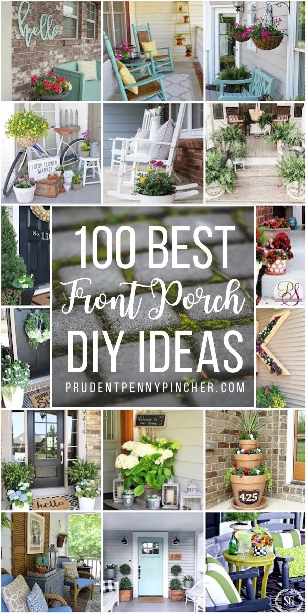 100 Best Diy Front Porch Decorating Ideas Prudent Penny Pincher