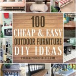 100 Cheap And Easy Outdoor Diy Furniture Ideas Prudent Penny Pincher