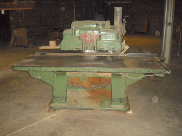 Mattison 202 Straight Line Rip Saw