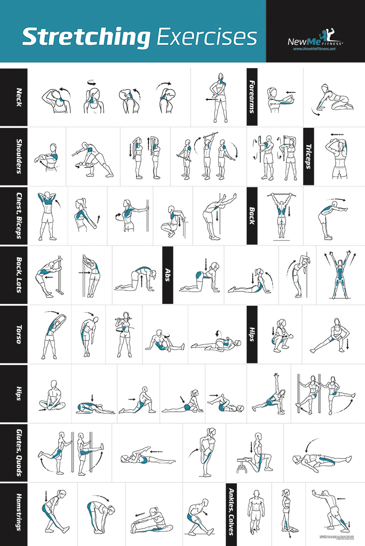 NewMe Fitness Unveils New Stretching Exercise Poster