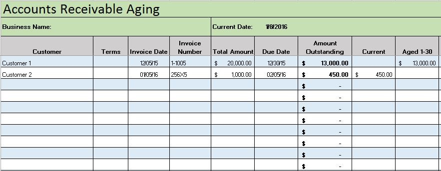 accounting journal template excel sample 3