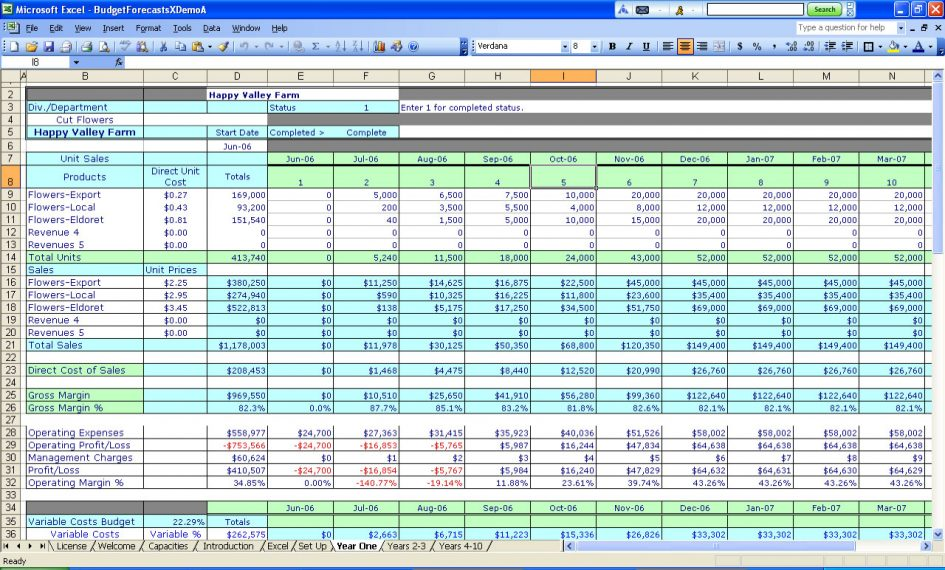accounting spreadsheet template free sample