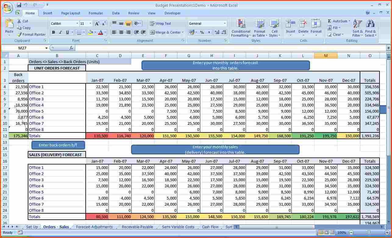 free budget worksheet sample
