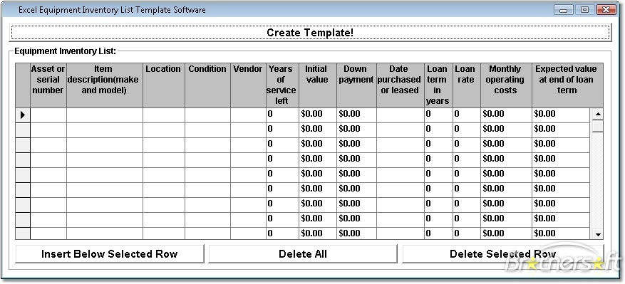 stock register format in excel sample