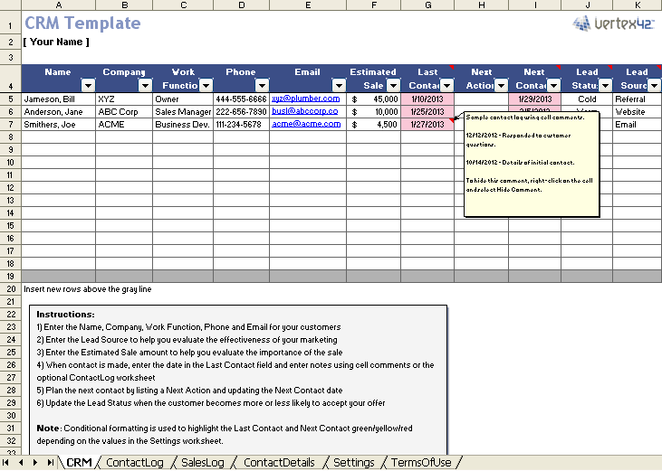 excel templates for business plan sample