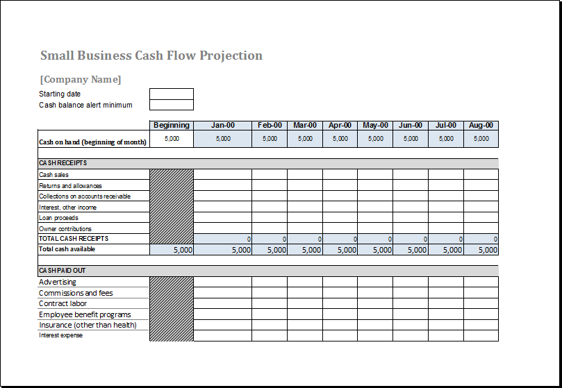 fund flow statement format xls sample