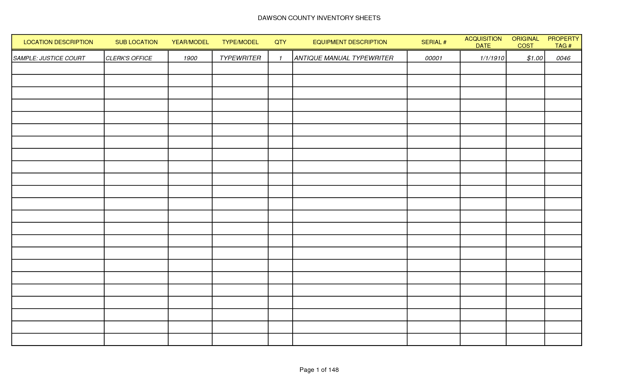 how to print gridlines in excel with empty cells sample